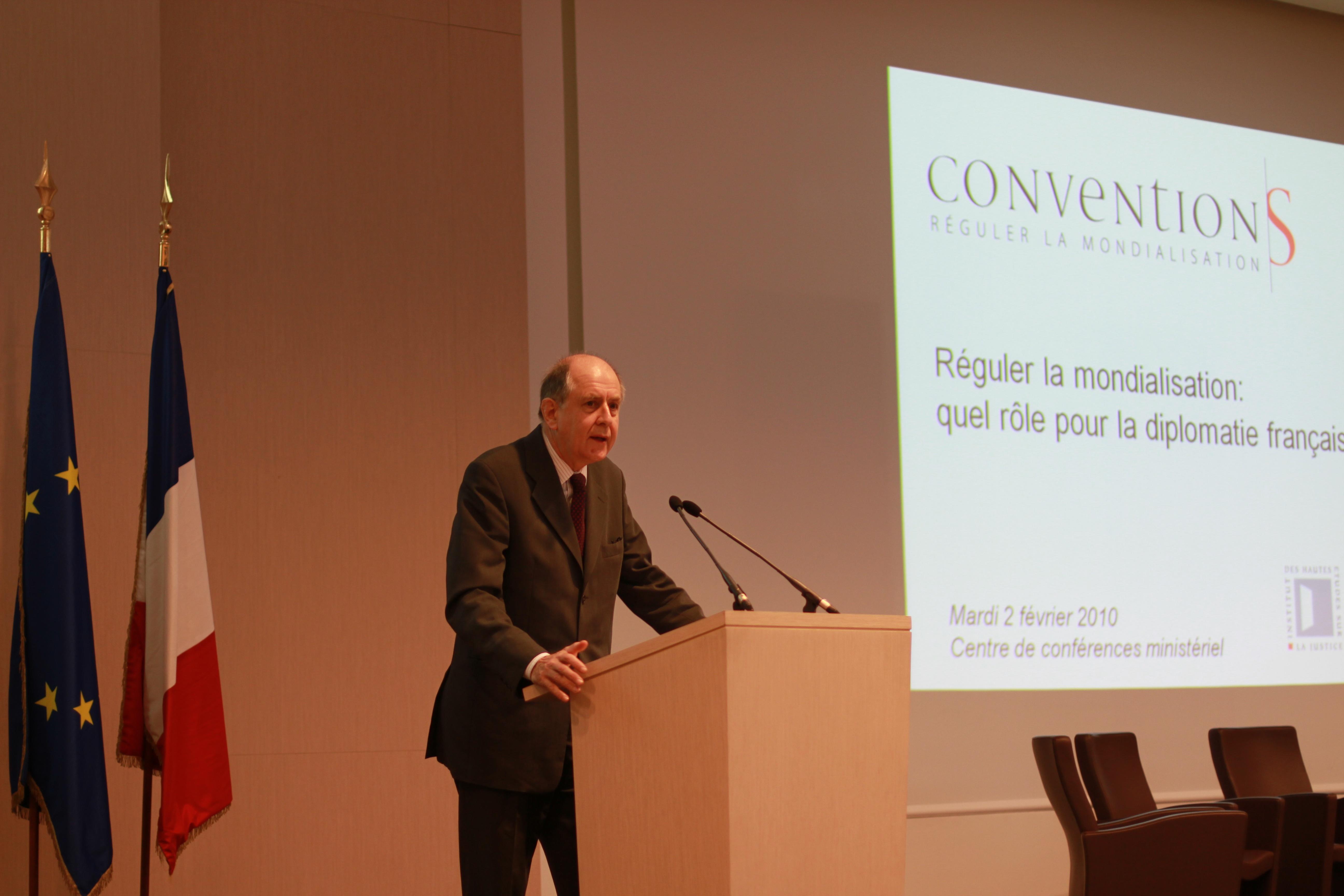 Jean-Marc Sauvé Conventions
