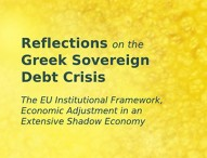 Reflections on the Greek Sovereign Debt Crisis