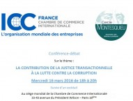 Conférence-débat sur la contribution de la justice transactionnelle à la lutte contre la corruption