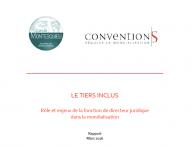 Rapport – Le tiers inclus : rôle et enjeux de la fonction de directeur juridique dans la mondialisation